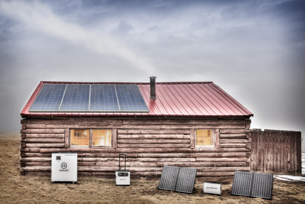 Off Grid Battery Systems For Solar Powered Cabins Tiny Homes And Houses